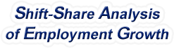 Shift-Share Analysis of Virginia Employment Growth and Shift Share Analysis Tools for Virginia